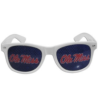 Collegiate Mississippi Rebels White Game Day Shades