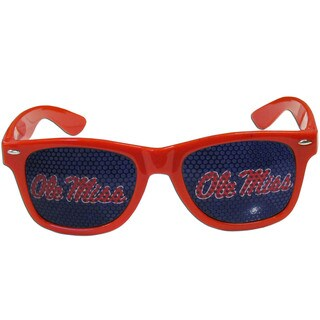 Collegiate Mississippi Rebels Red Plastic Game Day Shades