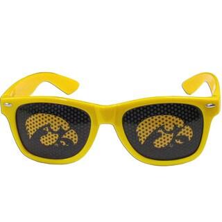 Collegiate Iowa Hawkeyes Yellow Plastic Game Day Shades