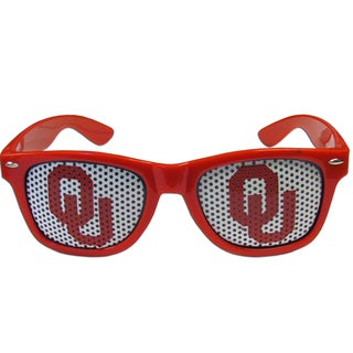 Collegiate Oklahoma Sooners Red Plastic Game Day Shades