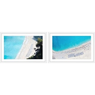 Marmont Hill - Handmade Blue Water Diptych