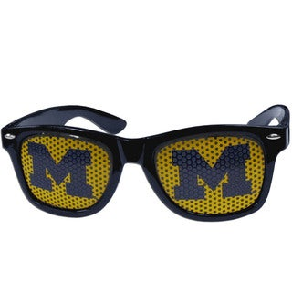 Collegiate Michigan Wolverines Black Game Day Shades