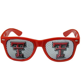 Collegiate Texas Tech Raiders Red Game Day Shades