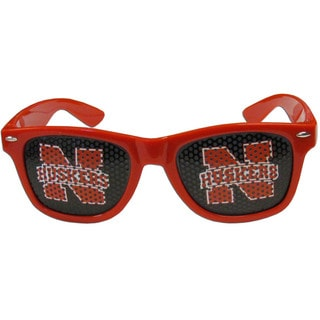 Collegiate Nebraska Cornhuskers Game Day Shades With Smoke Lenses