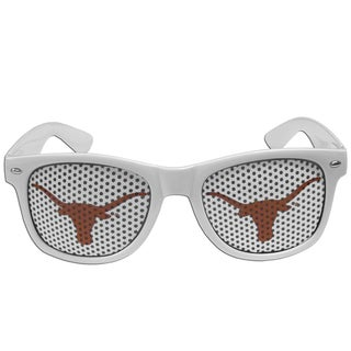 Collegiate Texas Longhorns White/Orange Plastic Game Day Shades