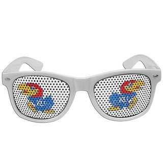 Collegiate Kansas Jayhawks White Game Day Shades