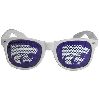 Collegiate Kansas St. Wildcats White Game Day Shades