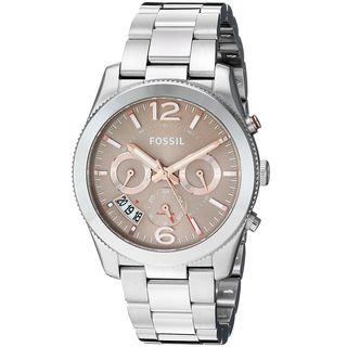 Fossil Women's ES4146 'Perfect Boyfriend' Multi-Function Stainless Steel Watch