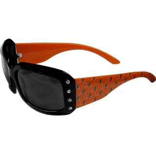 Collegiate Miami Hurricanes Designer Women's Sunglasses
