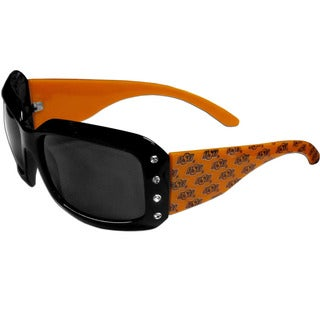 Oklahoma State Cowboys NCAA Women's Designer Bling Sunglasses (Option: Oklahoma State Cowboys)