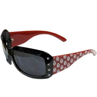 Oklahoma Sooners NCAA Women's Designer Bling Sunglasses