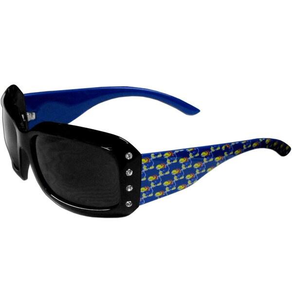 Kansas Jayhawks NCAA Women's Designer Bling Sunglasses
