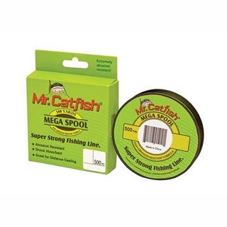 Lews Fishing Mr Catfish Line Filler Spools, 500 Yards 20 lb, Camo