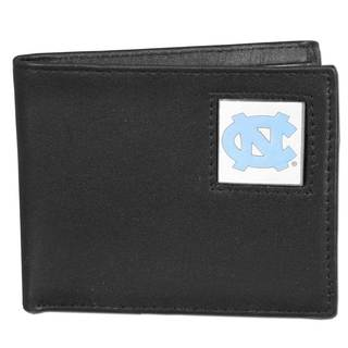 Collegiate North Carolina Tar Heels Leather Bi-fold Wallet in Gift Box