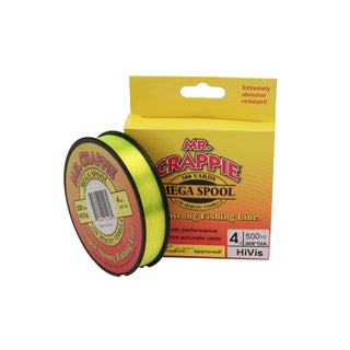 Lews Fishing Mr. Crappie 500-yard Filler Spool