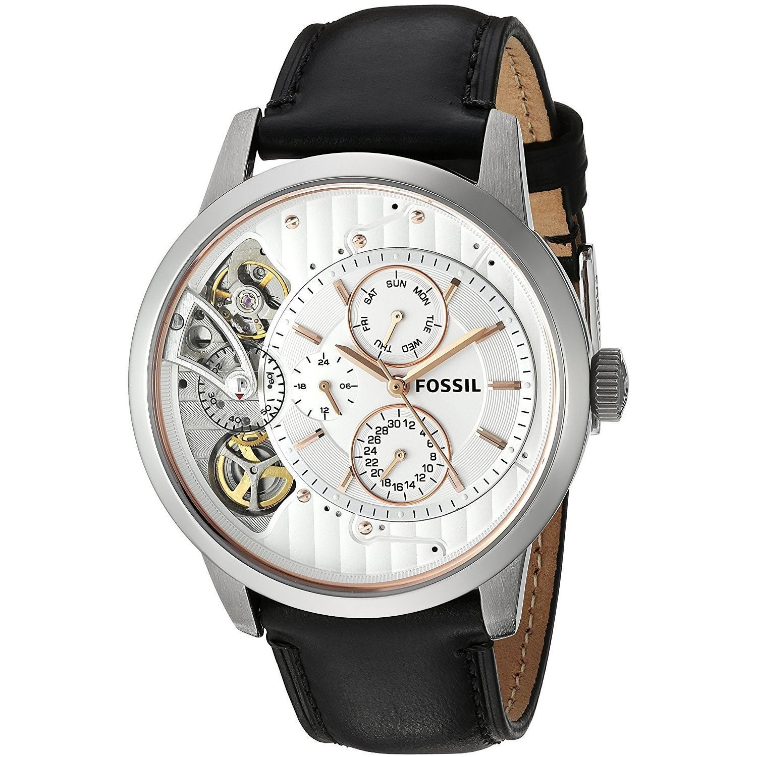 Fossil Men's ME1164 'Townsman Mechanical Twist' Multi-Fun...