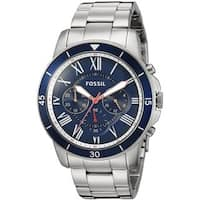 Fossil Men's FS5238 'Grant Sport' Chronograph Stainless Steel Watch