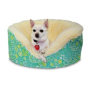 Restless Tails Pet Jenn Harmony Green Pet Couch