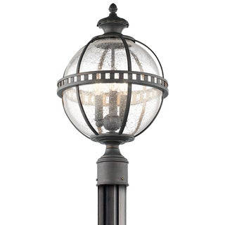 Kichler Lighting Halleron Collection 3-light Londonderry Outdoor Post Mount