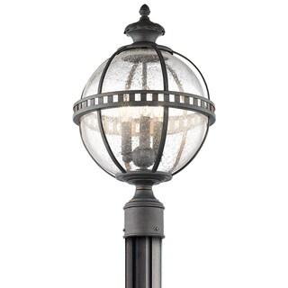 Kichler Lighting Halleron Collection 3-light Londonderry Outdoor Post Mount