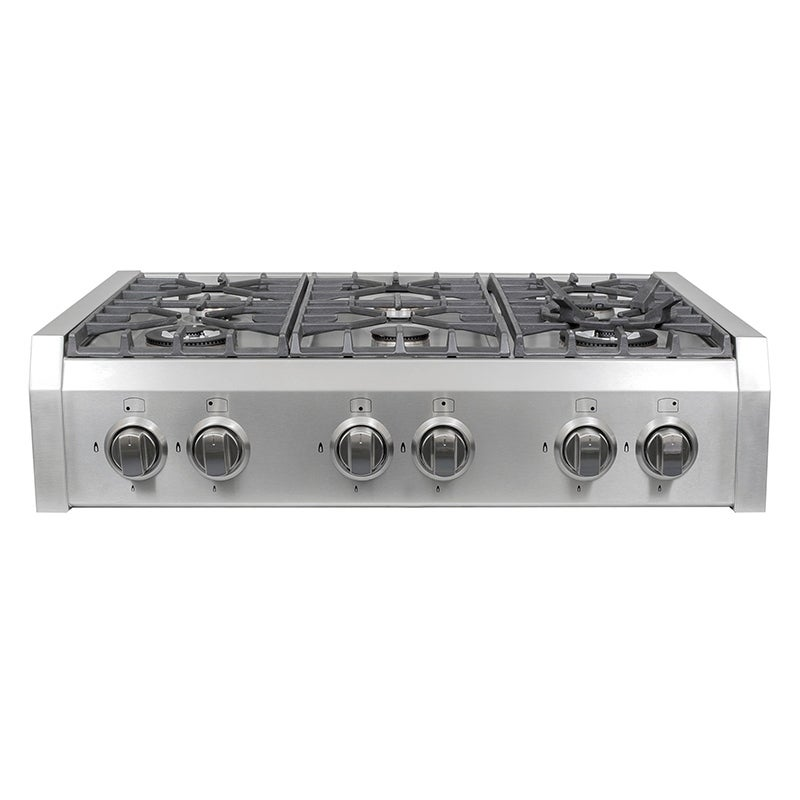 Cosmo S9-6) 36 in. Pro-Style Gas Rangetop with 6 Burners,...
