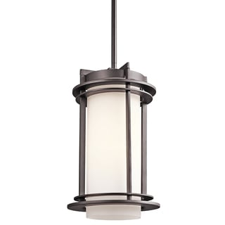 Kichler Lighting Pacific Edge Collection 1-light Architectural Bronze Outdoor Pendant