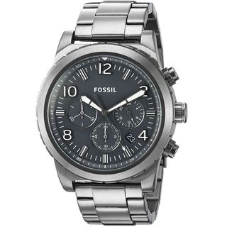 Fossil Men's 'Oakman' Chronograph Stainless Steel Watch