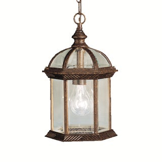 Kichler Lighting Barrie Collection 1-light Tannery Bronze Outdoor Pendant
