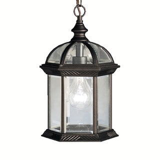 Kichler Lighting Barrie Collection 1-light Black Outdoor Pendant