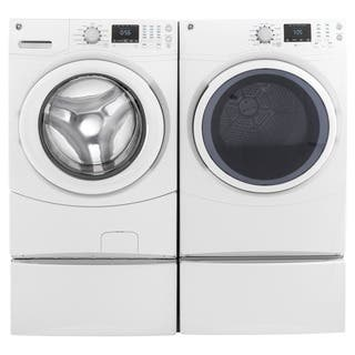 GE Laundry Pair with 7.5-cubic Feet Capacity Frontload Gas Dryer and 4.3-cubic Feet Capacity Frontlo|https://ak1.ostkcdn.com/images/products/13475460/P20162021.jpg?impolicy=medium