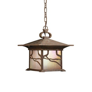 Kichler Lighting Morris Collection 1-light Distressed Copper Outdoor Pendant
