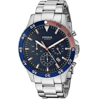 Fossil Men's CH3059 'Crewmaster Sport' Chronograph Stainless Steel Watch