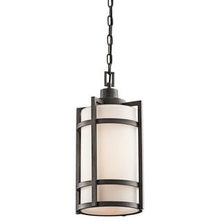 Kichler Lighting Camden Collection 1-light Anvil Iron Outdoor Pendant
