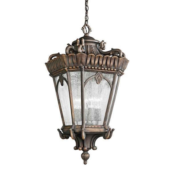 Kichler Lighting Tournai Collection 4-light Londonderry Outdoor Pendant