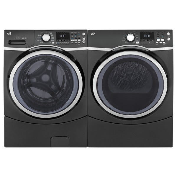 Shop Ge Steam Laundry Pair With Extra Large Capacity