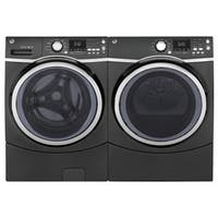GE Steam Laundry Pair with Extra Large Capacity