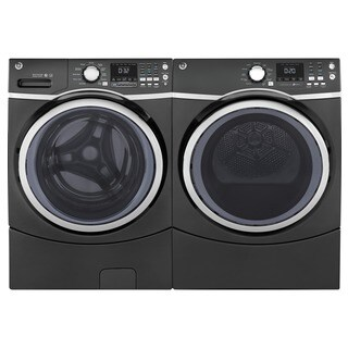 GE Steam Laundry Pair with Extra Large Capacity (Option: Grey)