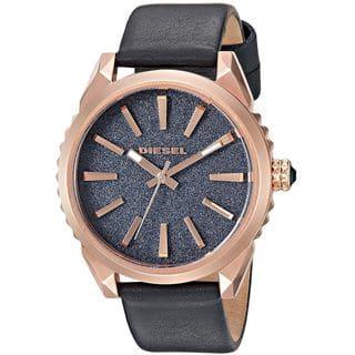 Diesel Women's DZ5532 'Nuki' Blue Leather Watch|https://ak1.ostkcdn.com/images/products/13475514/P20162084.jpg?impolicy=medium