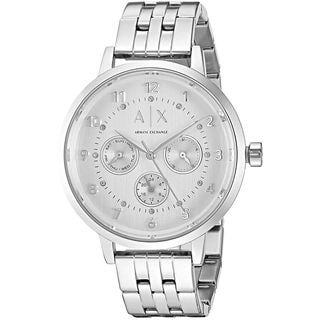 Armani Exchange Women's AX5376 'Active' Multi-Function Crystal Stainless Steel Watch