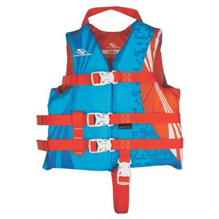 Coleman Kids' Stearns Child Antimicrobial Series Nylon and Foam Life Jacket