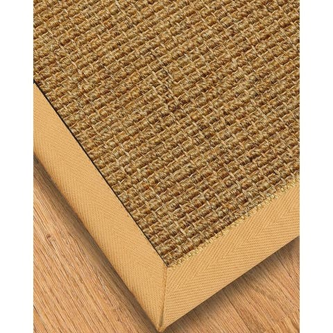 "Handcrafted Studio Fudge Sisal Carpet Stair Treads (Set of 13) - 13PC (9"" x 29"")"