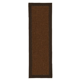 """Handcrafted Linden Sisal Carpet Stair Treads 9"""" x 29"""" (Set of 13)"""