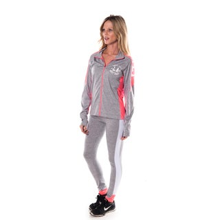 Special One Women's Grey Active Sport Yoga / Zumba 2-piece Set