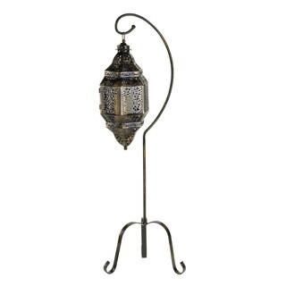 Home Locomotion Moroccan Candle Lantern Stand