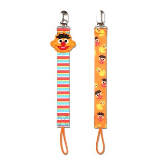 NoThrow Sesame Street Ernie Universal Pacifier Tether (Set of 2)