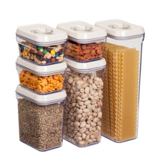 12pcs locking food storage set
