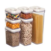 Honey-Can-Do 12pcs locking food storage set
