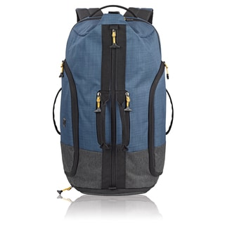 Solo Combo Blue/Grey Polyester 17.3-inch Laptop Convertible Backpack/Duffel Bag