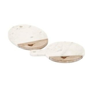 Trisha Yearwood Songbird Marble Cheese Boards - Ast 2