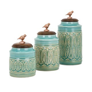 Trisha Yearwood Songbird Canisters - Set of 3